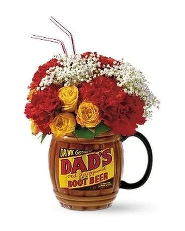 Rootin' For Dad by Teleflora Flower Arrangement