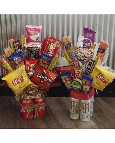 MEN'S SNACK PACK Gift Basket