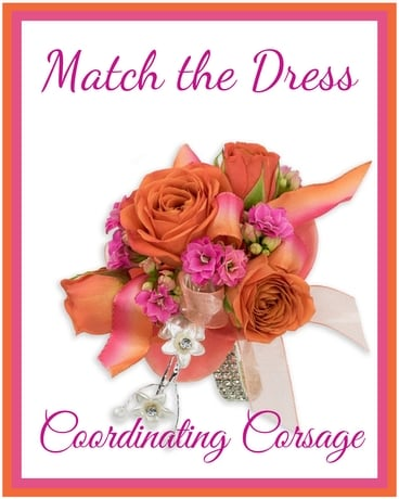 Match The Dress Flower Arrangement