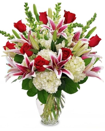 Passionate Love Flower Arrangement