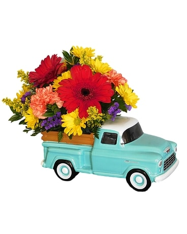 Chevy Truck Bouquet