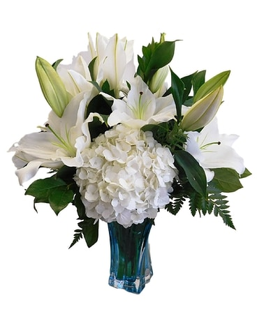 Luscious Lilies Flower Arrangement