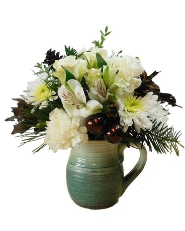 Holiday Warmth Flower Arrangement