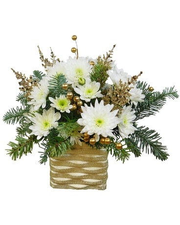 Vogue Christmas Flower Arrangement