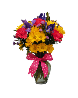 Sunrise Pink Flower Arrangement