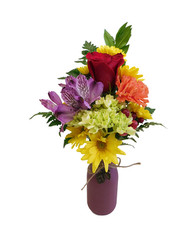 Fall Fun Flower Arrangement
