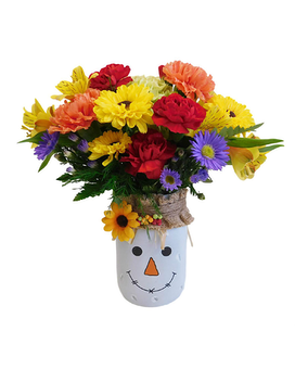 A Little Scary Flower Arrangement