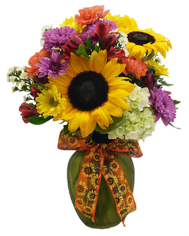 Fantastic Fall Flower Arrangement