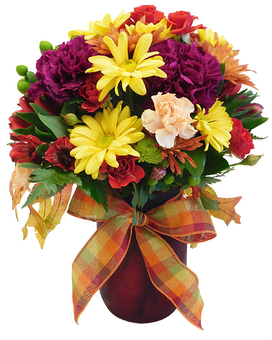 Fall Warmth Flower Arrangement