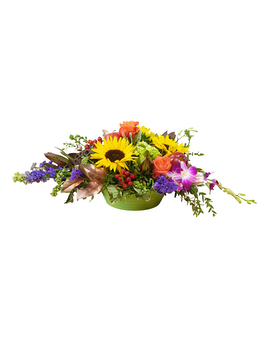 Nature's Bounty Flower Arrangement