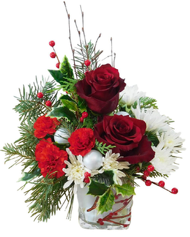 Winterberry Kisses Flower Arrangement