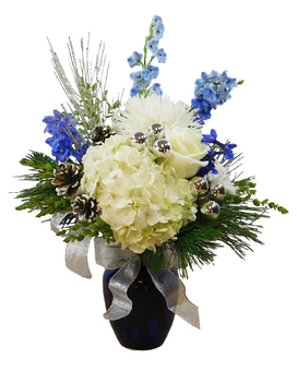 Winter Wonderland Flower Arrangement