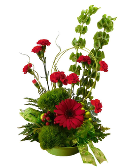 Whoville Holiday Bouquet Flower Arrangement