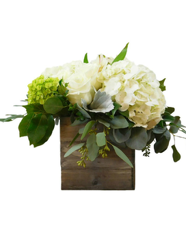 Country Chic Flower Arrangement
