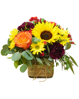 Autumn Garden Deluxe Flower Arrangement