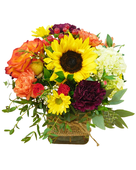 Autumn Garden Premium Flower Arrangement