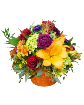 Autumn Grandeur Premium Flower Arrangement