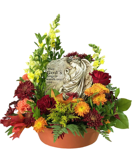 Treasured Tribute Flower Arrangement
