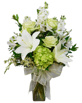 Peaceful Wishes Flower Arrangement