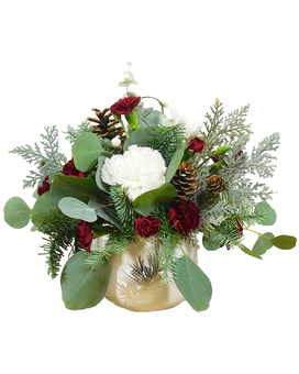 Winter Elegance Flower Arrangement