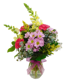 Spring Inspired Flower Arrangement