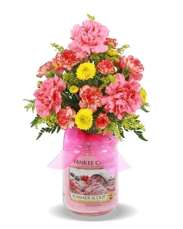 YANKEE CANDLE  BOUQUET Flower Arrangement
