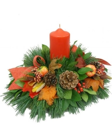 Luminous Fall Centerpiece Centerpiece