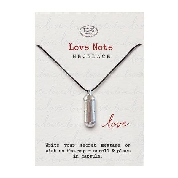 Love Note Capsule Necklace
