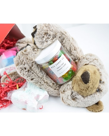 Bear Hugs Box Gift Basket