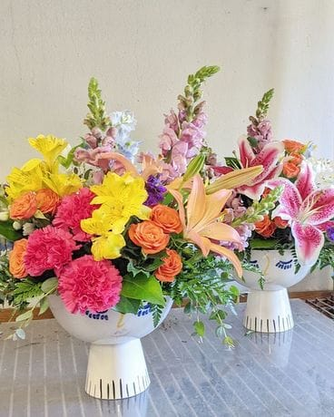 Expressions of a Hairdresser Flower Arrangement