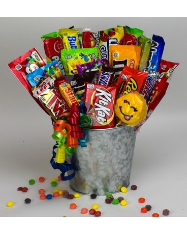 Junk Food Bucket Gifts
