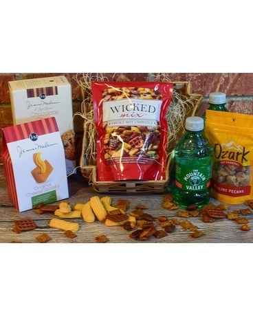 Arkansas Basket Gift Basket