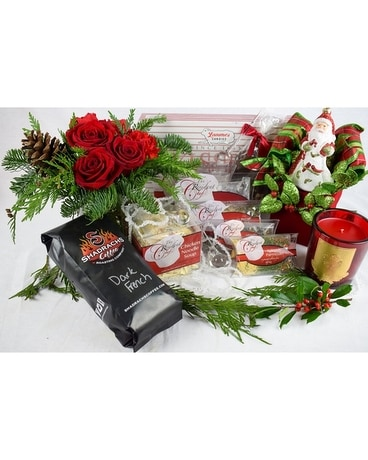 Best of the Holidays Box Gift Basket