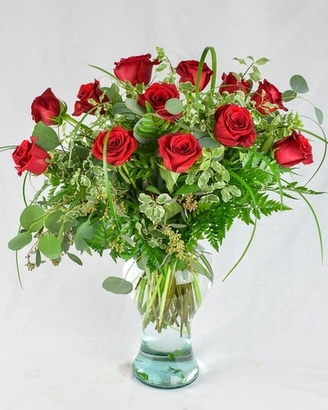 Always On My Mind Signature Roses Flower Arrangement