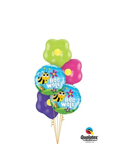 Bee Well Balloon Bouquet Custom product