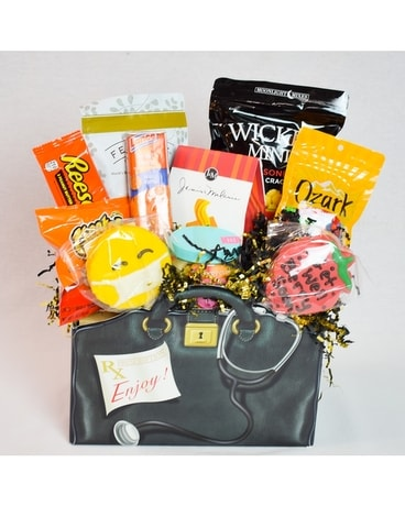 Get Well Rx Box Gift Basket