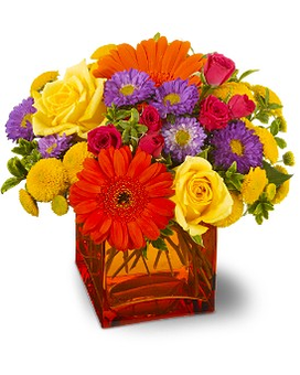 Teleflora's Another Year Bolder Flower Arrangement
