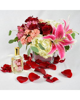 Mon Amour + Lollia Perfume Flower Arrangement