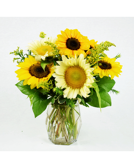 Southern Sun Vase Flower Arrangement
