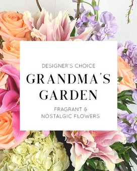 Designer's Choice | Grandma's Garden Flower Arrangement
