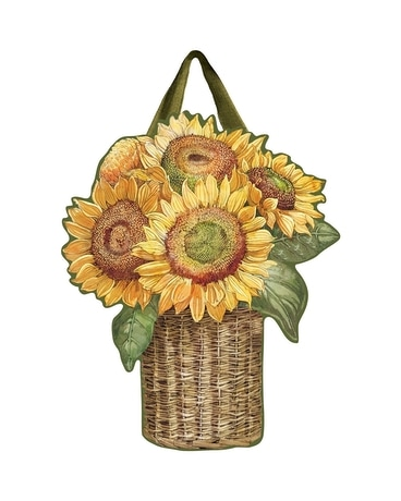 Farmhouse Sunflower Door Decor Gifts