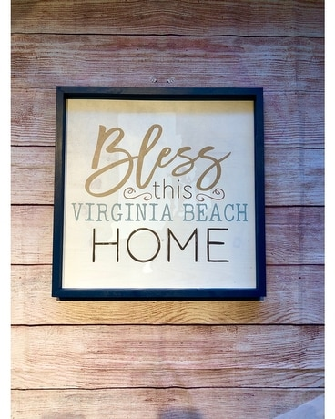 Bless This Virginia Beach Home Sign Gifts
