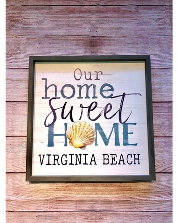 Our Home Sweet Home Virginia Beach Sign Gifts