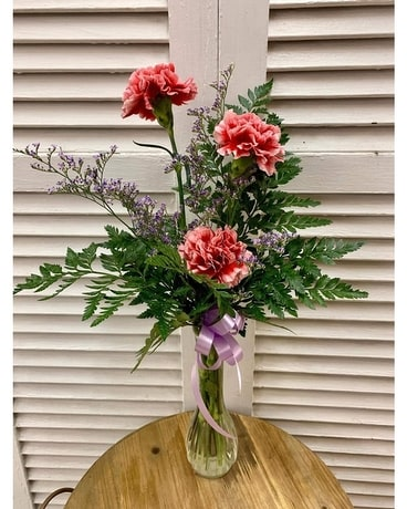 A Simple Thanks Flower Arrangement