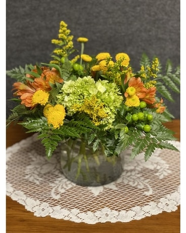 Smiling Surprise Flower Arrangement