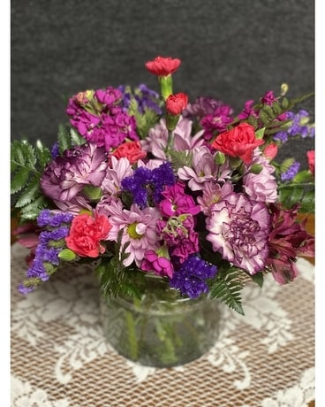 Cottage Blossoms Flower Arrangement