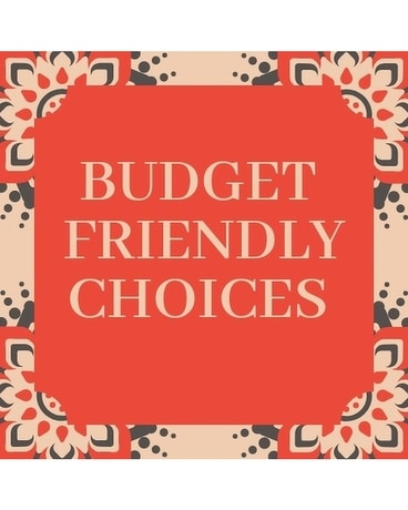 Budget Friend Flowers