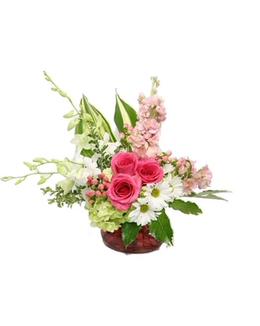 Precious Moments Flower Arrangement