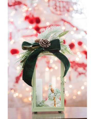 Copper Lantern - Medium
