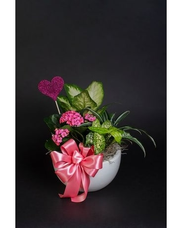 Rose Trio Flower Arrangement